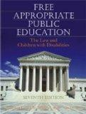 Free Appropriate Public Education The Law and Children With Disabilities