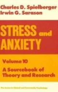 Stress and Anxiety A Sourcebook of Theory and Research