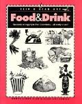 Food & Drink Hundreds of Copyright-Free Illustrations  All Ready to Use!
