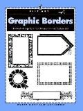 Clip Art: Graphic Borders - North Light Books - Paperback