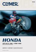Honda Atc 185 and 200, 1980-1986 Service, Repair, Maintenance