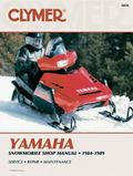 Yamaha Snowmobile Manual, 1984-1989