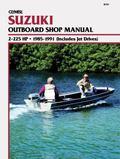 Clymer Suzuki Outboard Shop Manual, 2-225 Hp, 1985-1991
