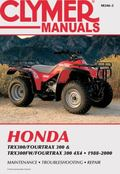 Honda Trx300/Fourtrax 300 & Trx300Fw/Fourtrax 300 4X4 1988-2000