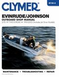 Clymer Evinrude/Johnson Outboard Shop Manual 2-70 HP Two-Stroke 1995-2003 (Includes Jet Driv...