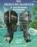 Mercury/Mariner Outboard 3-And 4-Cylinder 1990-1994  Tune-Up and Repair Manual