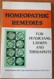Homeopathic Remedies for Physicians, Laymen and Therapists - David J. Anderson - Paperback