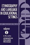 Ethnography and Language in Educational Settings, Vol. 5