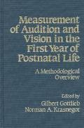 Measurement of Audition and Vision in the First Year of Postnatal Life