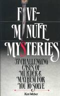 Five Minute Mysteries