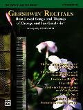 Young Pianist's Library 14C - Gershwin Recital Pieces Level 3-4