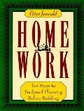 Homework: Ten Steps to Foolproof Planning before Buillding