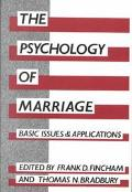Psychology of Marriage Back Issues and Applications