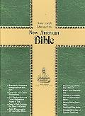 New American Bible St Joseph Edition Burgundy Bonded Leather With a Zipper Close