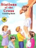 Stations of the Cross Coloring Book (St. Joseph Picture Books):  (10 books per Pack)