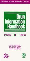 Drug Information Handbook 1998-99