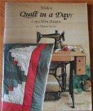 Make a Log Cabin Quilt in a Day - Eleanor Burns - Paperback - 3rd ed