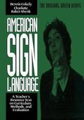 American Sign Language Green Books, Teacher's Curriculum (American Sign Language Series)