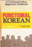 Functional Korean A Communicative Approach Textbook