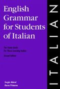 English Grammar for Students of Italian.
