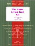 Alpha Living Trust Kit Special Book With Removable Pages
