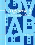 Algebra One-Half An Incremental Development