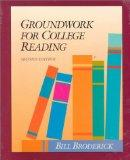 Groundwork for College Reading Skills