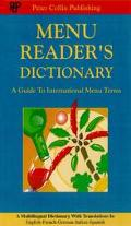 Menu Reader's Dictionary A Guide to International Menu Terms