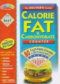 The Doctor's Pocket Calorie Fat and Carbohydrate Counter