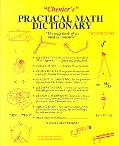 Chenier's Practical Math Dictionary The Only Book of Its Kind in America