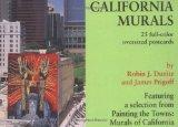 California Murals Postcard Postcard Book