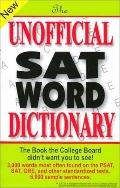 Unofficial Sat Word Dictionary