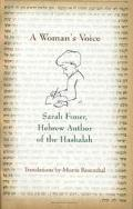 Woman's Voice Sarah Foner, Hebrew Author of the Haskalah