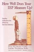 How Well Does Your Iep Measure Up? Quality Indicators for Effective Service Delivery