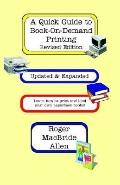 Quick Guide to Book-On-Demand Printing