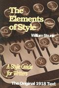 Elements of Style A Style Guide for Writers