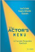 Actor's Menu A Character Preparation Handbook