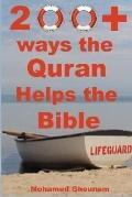 200+ Ways the Quran Helps the Bible: How Islam Unites Judaism and Christianity