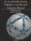 Art of Problem Solving: And beyond Solutions Manual, Vol. 2