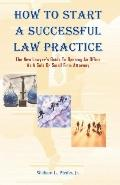 How to Start a Successful Law Practice