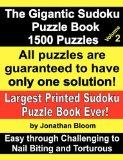 The Gigantic Sudoku Puzzle Book Volume 2