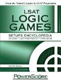 PowerScore LSAT Logic Games Setups Encyclopedia