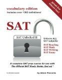 SAT Unlocked II (vocabulary Edition)