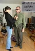 Blind Man and The Bimbo: A Paul Anders Mystery