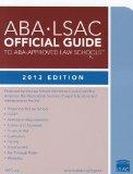 ABA-LSAC Official Guide to ABA-Approved Law Schools 2013