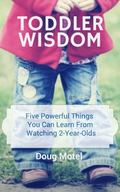 Toddler Wisdom : Five Powerful Things You Can Learn from Watching 2-Year-Olds