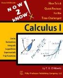 NOW 2 KNOW Calculus 1
