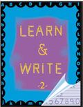 Learn and Write 2