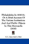 Philadelphia In 1830-31