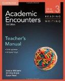 Academic Encounters Level 3 Teacher's Manual Reading and Writing: Life in Society